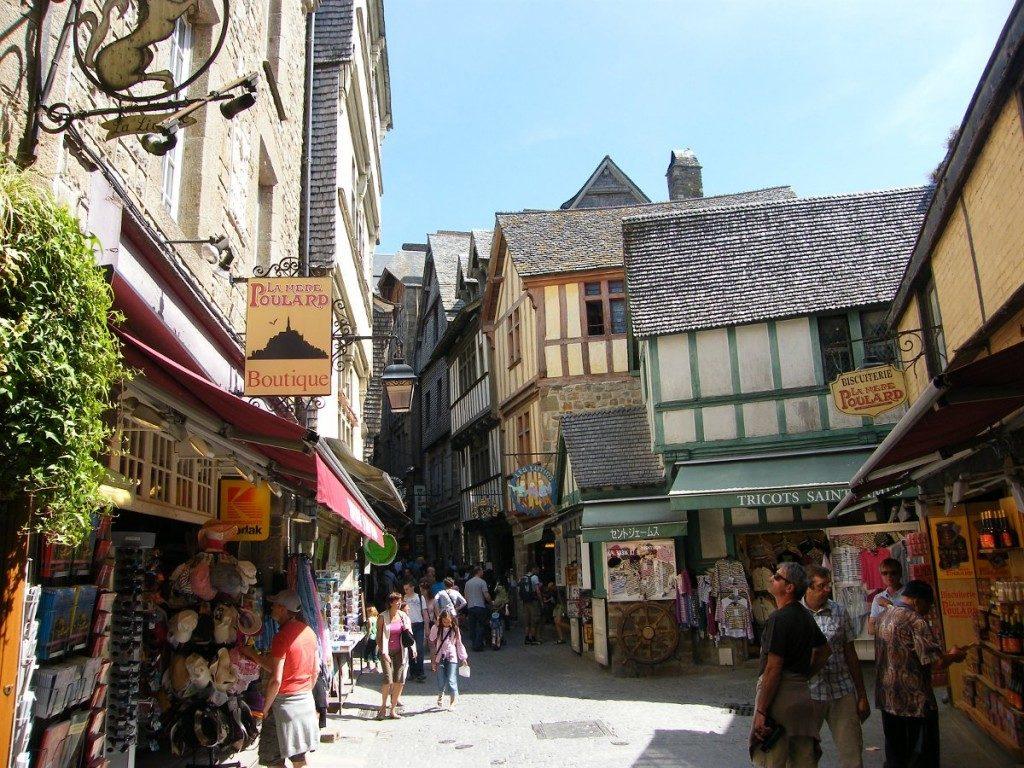 Le Mont Saint Michel - Intérieur de la ville