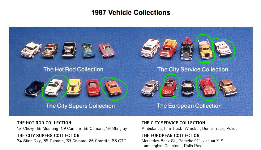 1987-MicroMachine-Vehicle-Collections