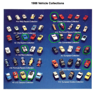 1988-MicroMachine-Vehicle-Collection