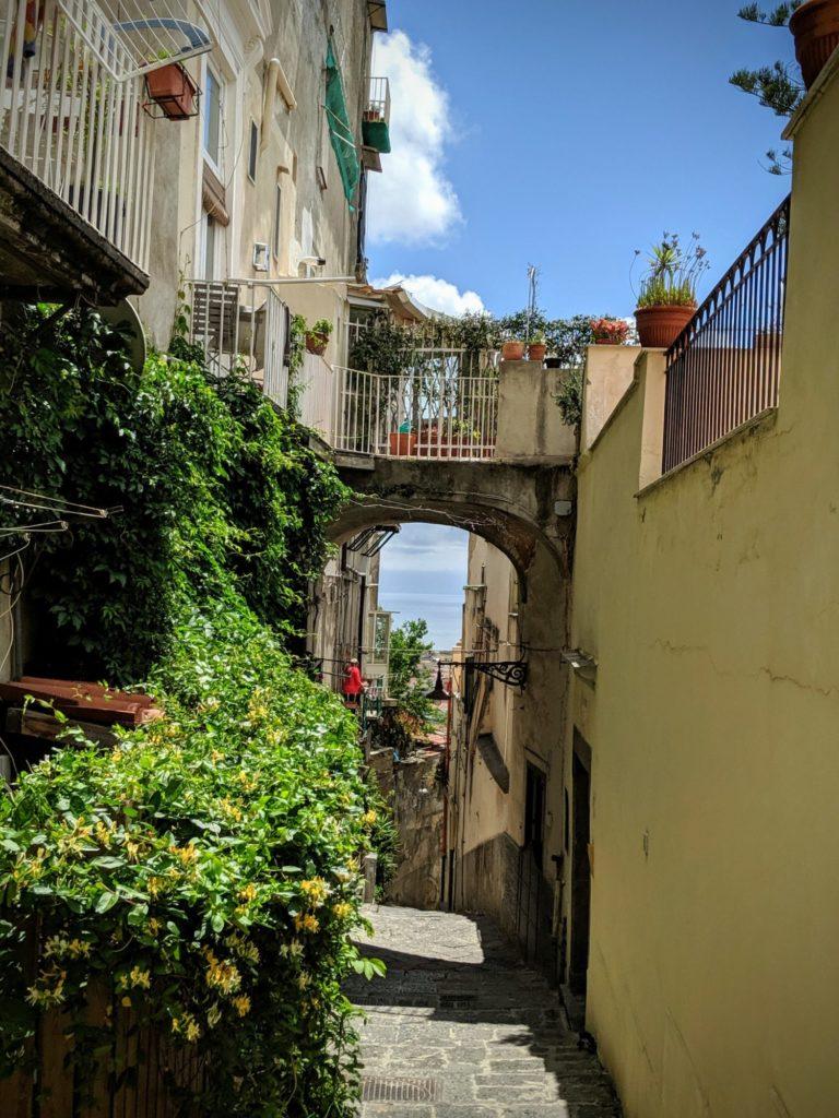 L'ascensione vers le Castel Sant'Elmo
