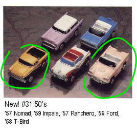 Micro Machines - New 50's - 1989