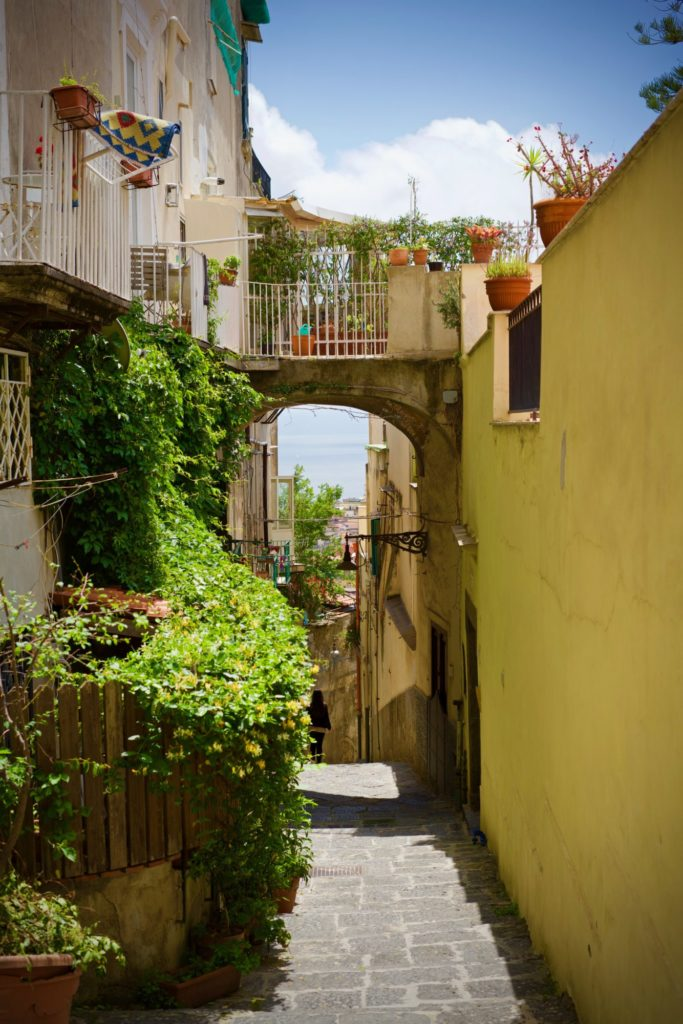 L'ascensione vers le Castel Sant'Elmo - Napoli - 6