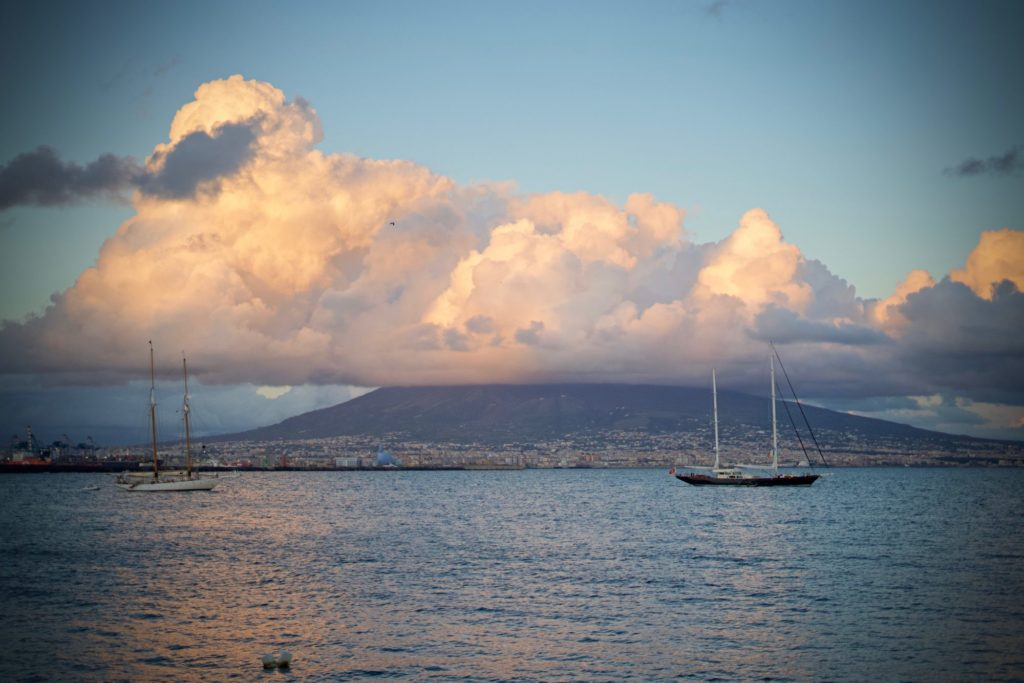 Réveil du Vésuve - Napoli