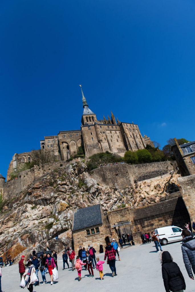 Le Mont Saint Michel avec 4 enfants