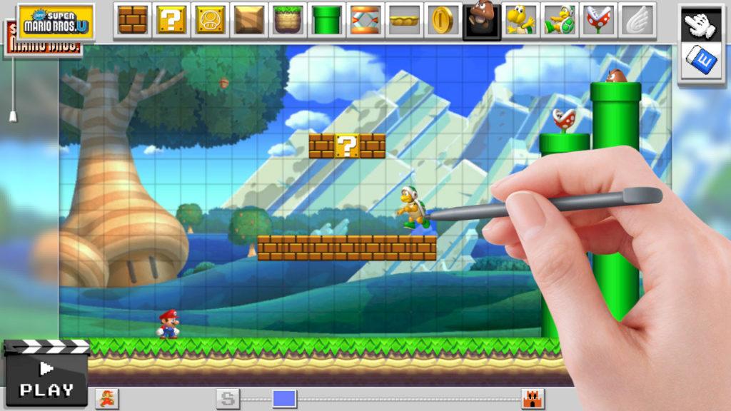 Super Mario Maker - WiiU (Nintendo, 2015)