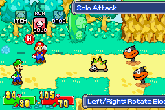 Mario & Luigi - Super Saga - GBA (Nintendo - AlphaDream, 2003)