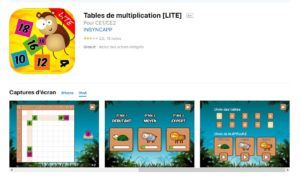 Tables de multiplication [LITE]
