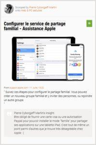 """être obligé de fournir une carte visa ou une autorisation Paypal pour pouvoir installer le mode """"famille"""" pour partager ses applications sur une tablette iPad. C'est tout de même un point parmi d'autres que je trouve très désagréable chez Apple : ("""