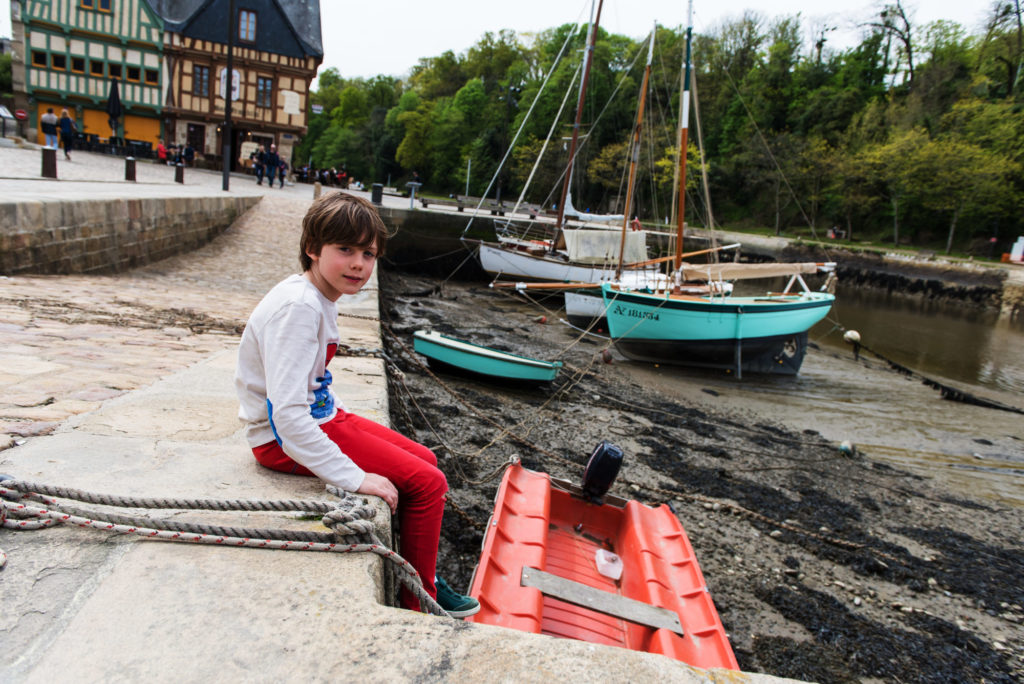 Le joli port de Saint Goustan