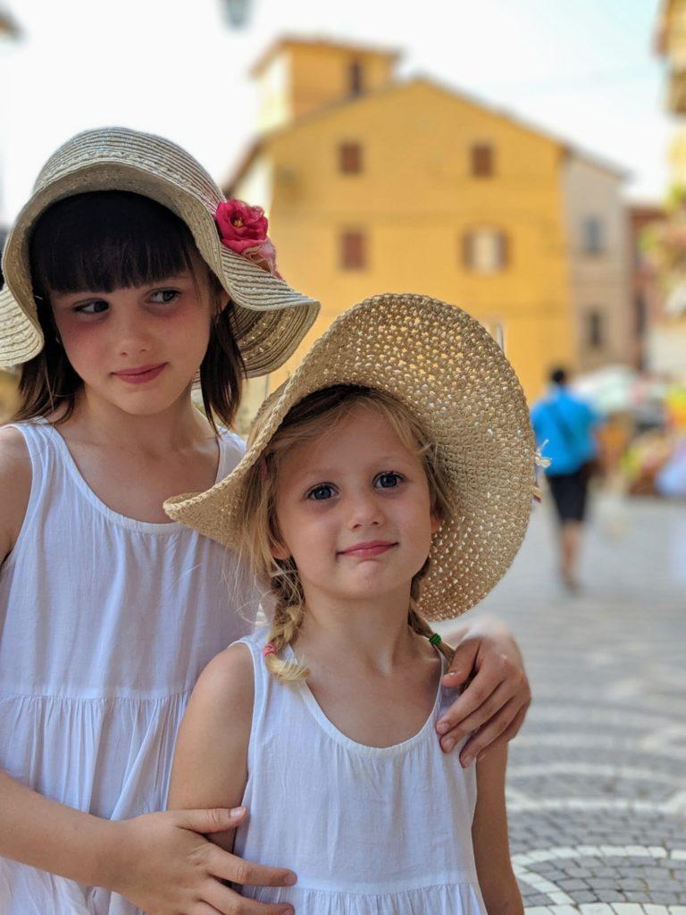 Dans les petites ruelles de Passignano Sul Trasimeno