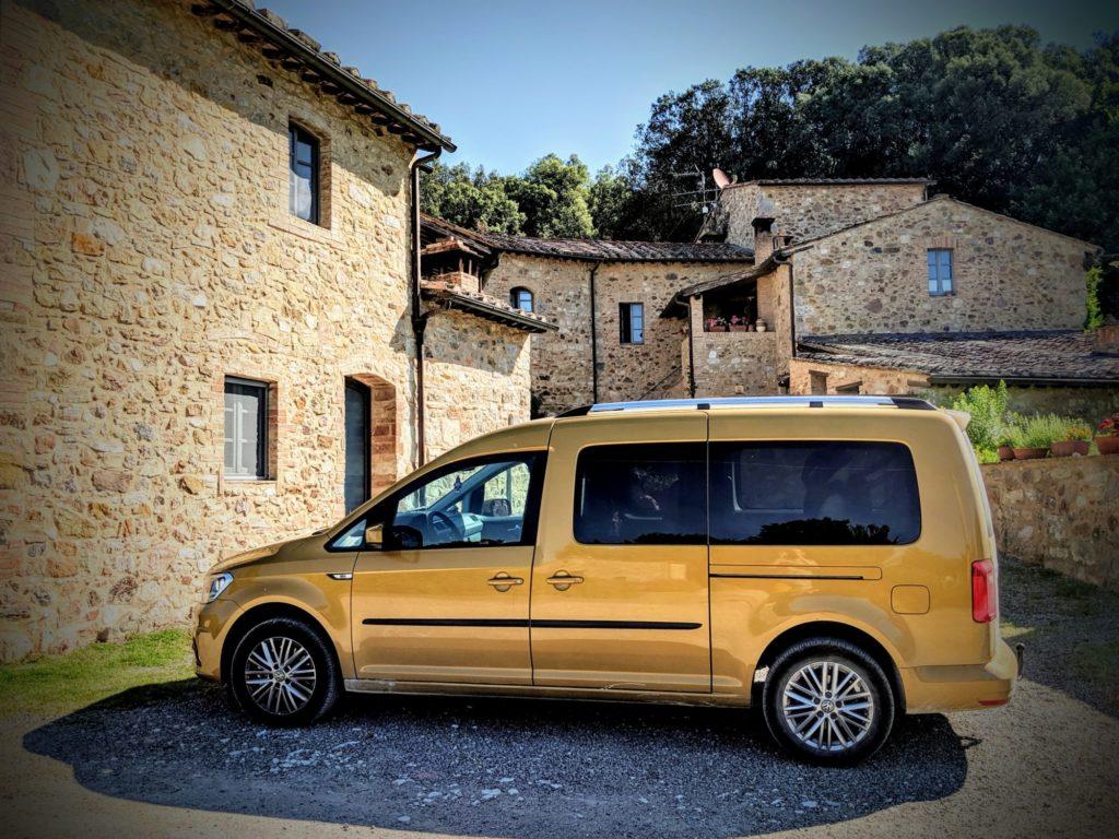 Les couleurs de notre nouvelle Caddy font très toscanes ! - Casa Verniano