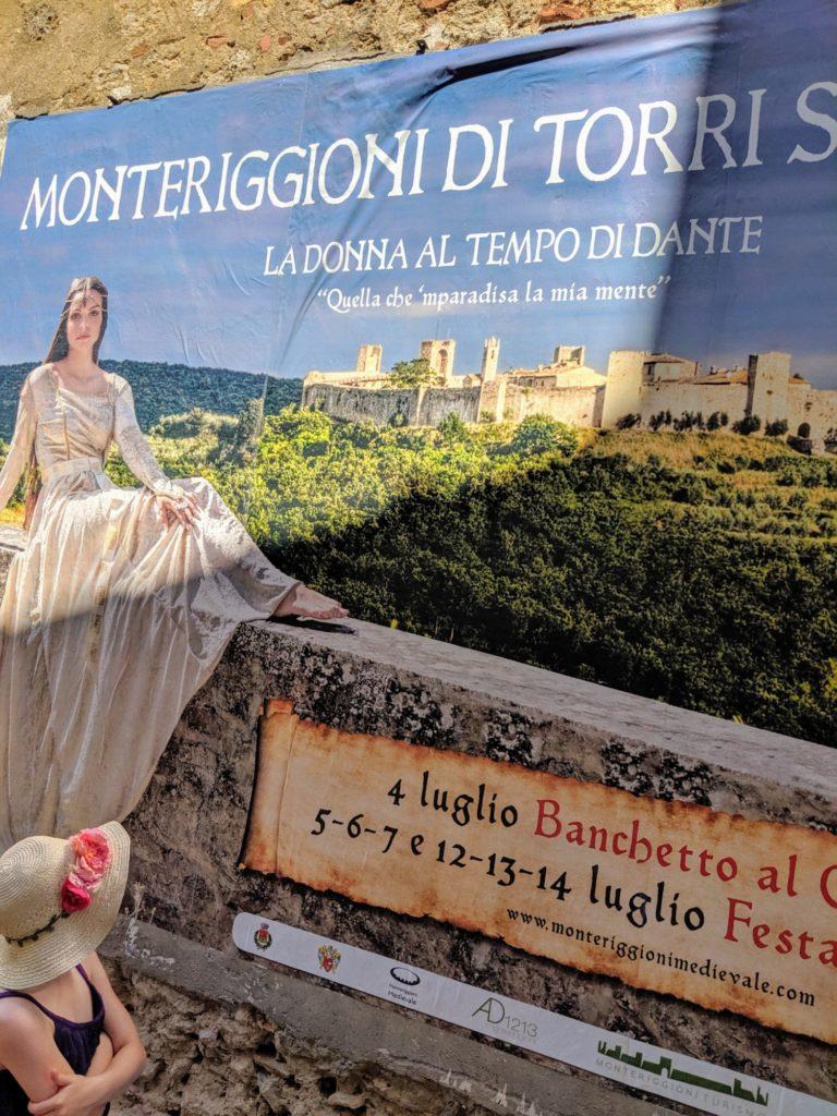 Tiens, le festival mediéval de Monteriggioni démarrera vendredi !