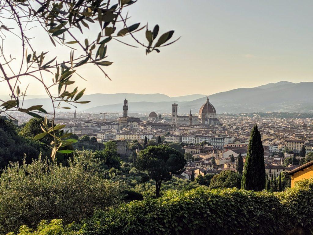 Florence vue d'en haut