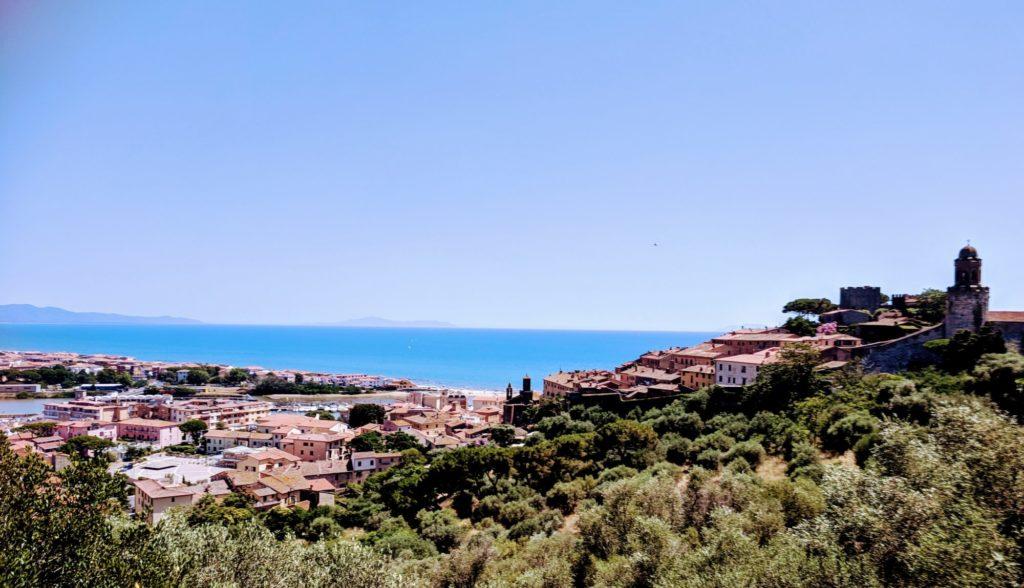 Les hauteurs de Castiglione de la Pescaia