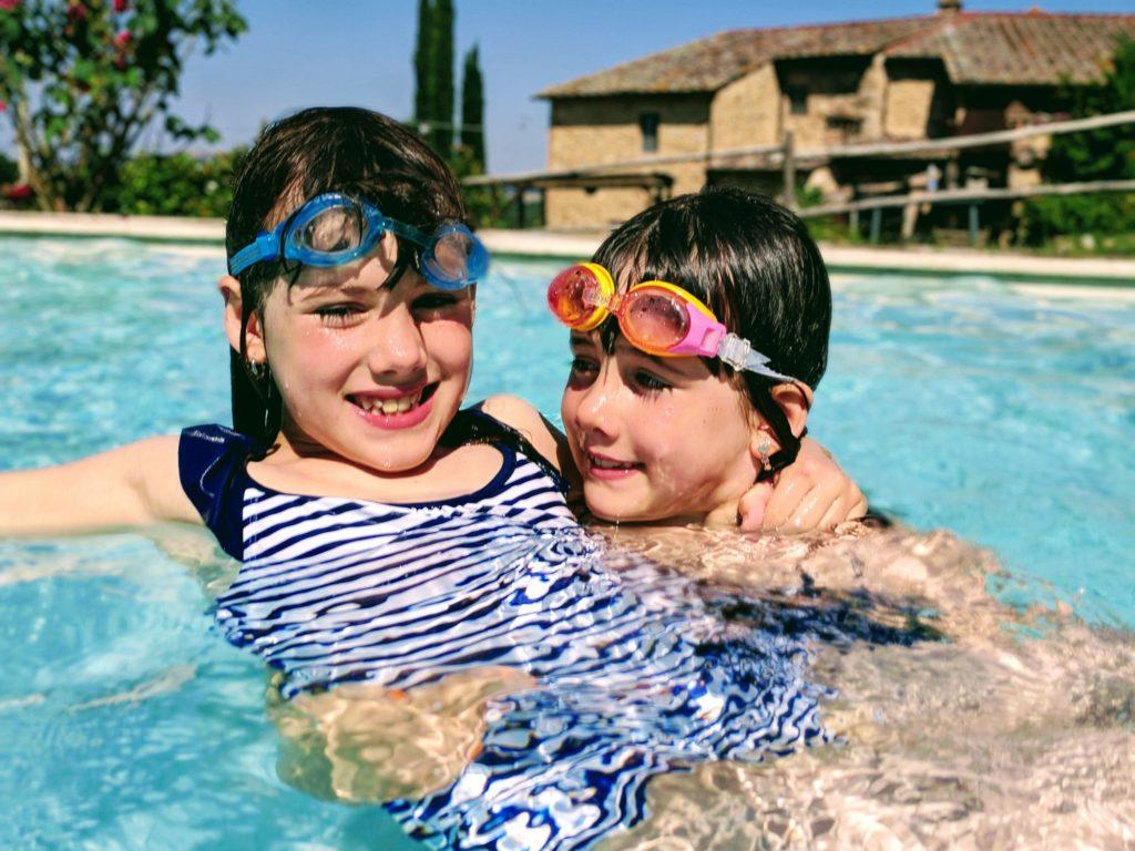 Dernier plongeon dans la piscine de la Casa Verniano