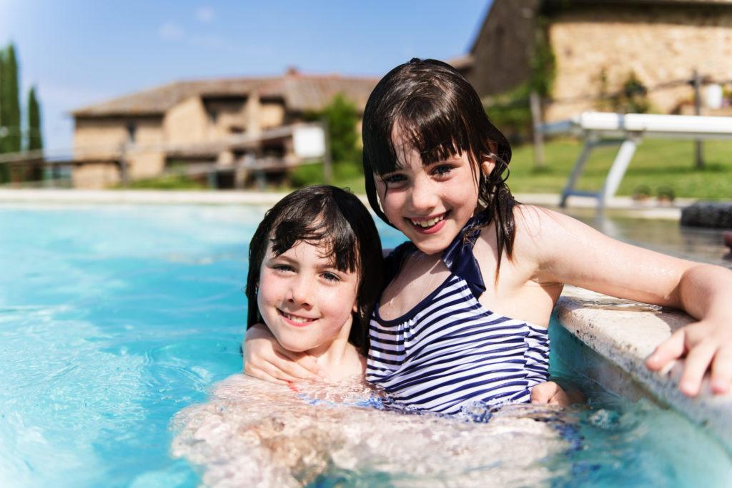 Sous 37°, on profite de la piscine - Casa Verniano