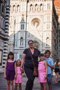 Quattro bambini dans Florence !