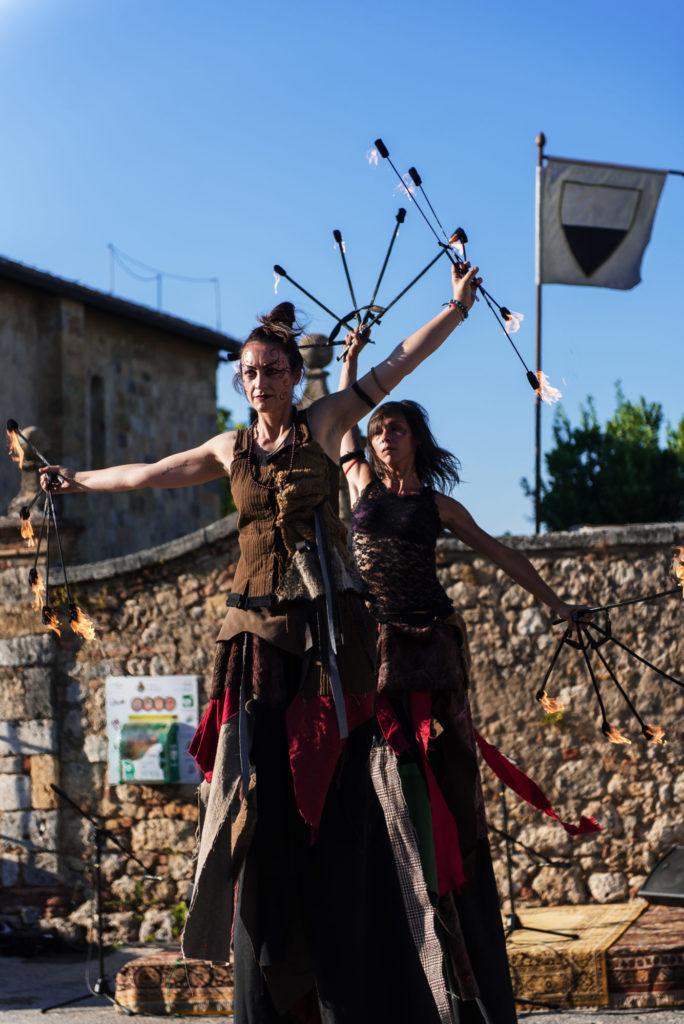 Ambiance fantastique au festival médiéval de Monteriggioni 2019 - Petite Snorkys Photography