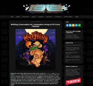 Wolfing porté sur Amiga !