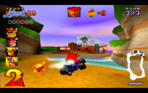 CTR - Playstation (Sony - Naughty Dogs, 1999)