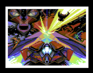 Relentless - C64 - Art by Rexbeng