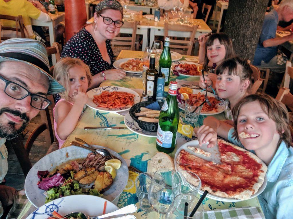 On a bien mangé au Ristorante San Martino