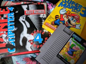 Surprise, des jeux NES sur la brocante de Neupré - Aout 2019