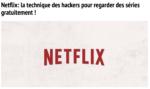 Ils ont piraté mon compte Netflix.