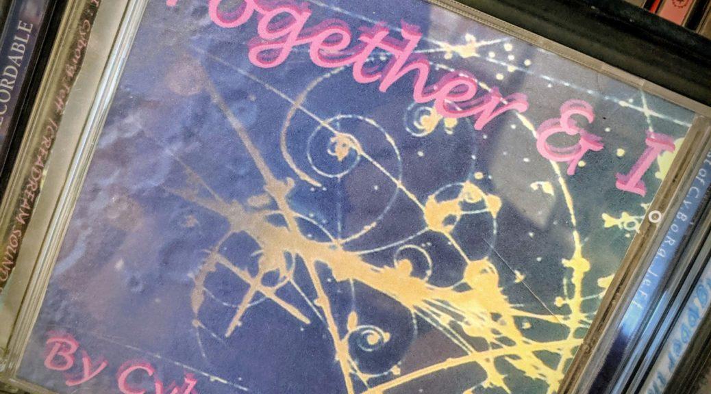 """La première édition de l'album """"Together & I"""" de Cyborg Jeff"""