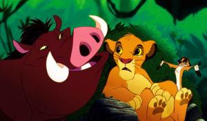 Roi Lion 1994, il y avait tout de même de gout Disney dans cette version...