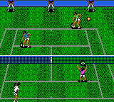 Wimbledon - Game Gear (Sega - Sims Co. , 1992)