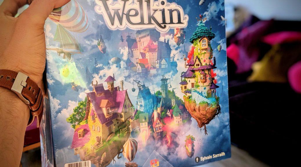 A la découverte de Welkin ! illustré par Sylvain Sarrailh