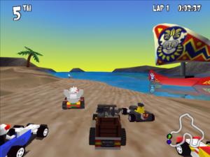 Lego Racers - N64 (Lego Media - High Voltage Software, 1999)