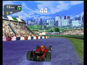 Monaco GP Racing Simulation 2 - PSX (Ubisoft, 1999)