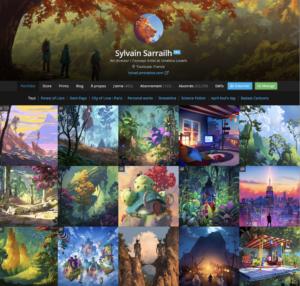 Les dernières illustrations de Sylvain Sarrailh