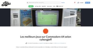 Les meilleurs jeux sur Commodore 64 selon cyborgjeff