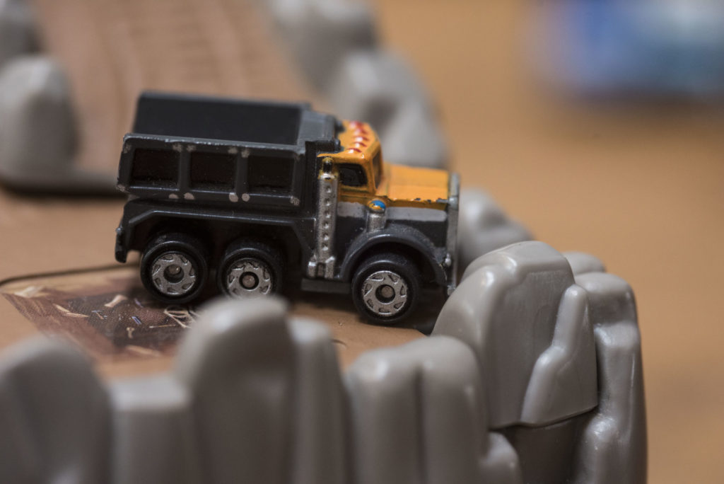 Dump Truck - Hard Hat Collection #20 - 1994 Micro Machines