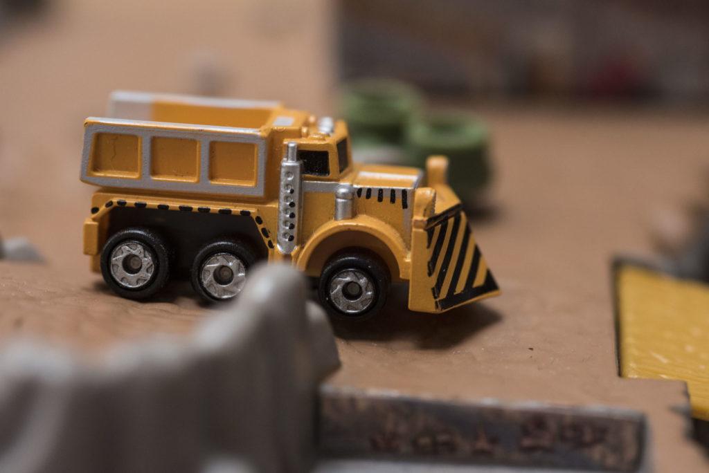Camion de déneigement 'Snowplow' Telephone Truck - Public Servants #38 - 1997 Micro Machines
