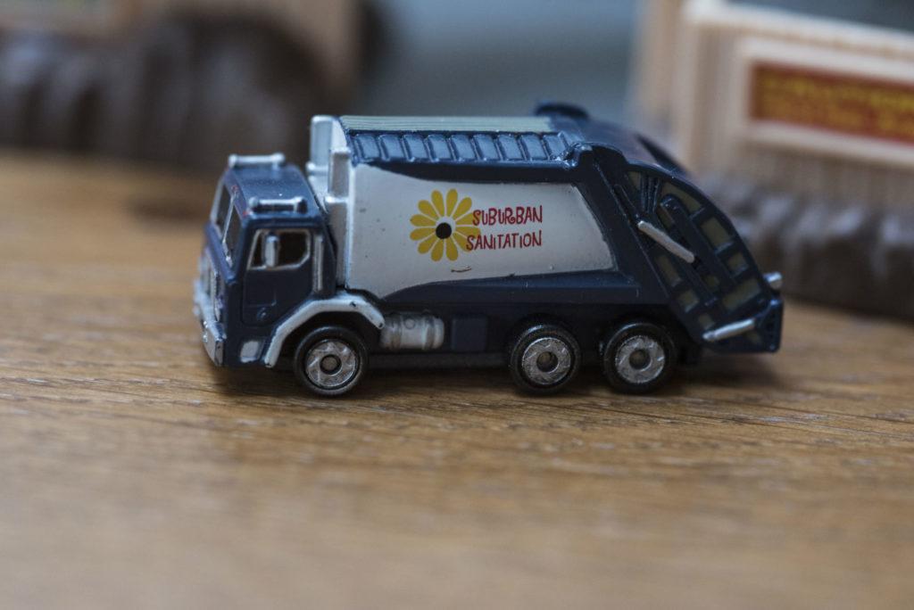 Camion poubelle 'Garbage Truck' - Public Servants #38 - 1997 Micro Machines