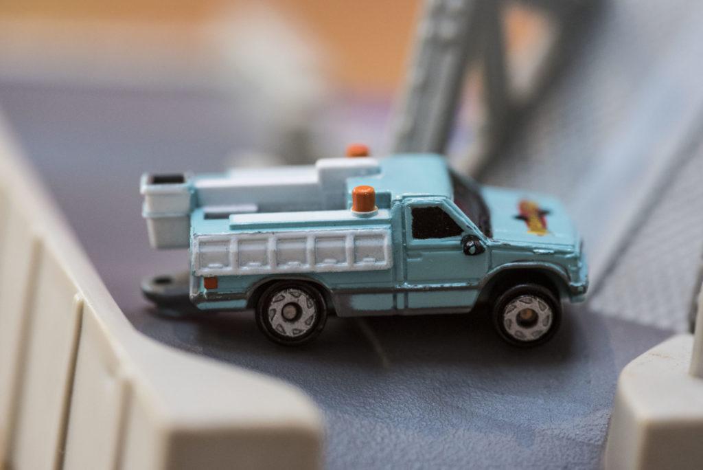 Telephone Truck - Public Servants #38 - 1997 Micro Machines