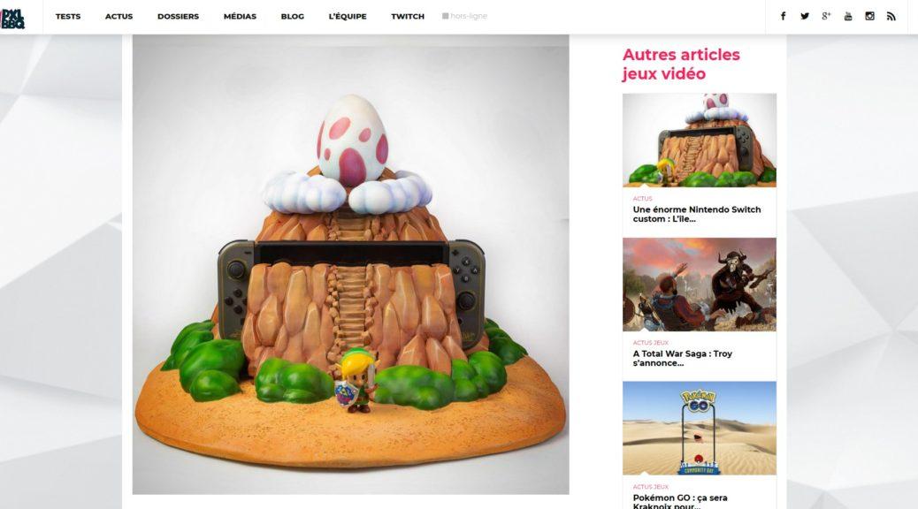 "Nintendo Switch ""Link's Awakening"" par Vadu Amka"