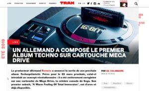 Un Allemand a composé le premier album techno sur cartouche Mega Drive