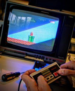 Super Mario Bros, l'icone de la console NES