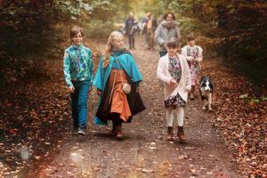 balade d'automne dans les bois de Seraing