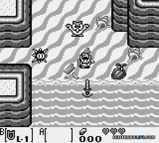 Pousser l'oursin avec le bouclier, je n'étais pas prêt à trouver cela tout seul en 1994