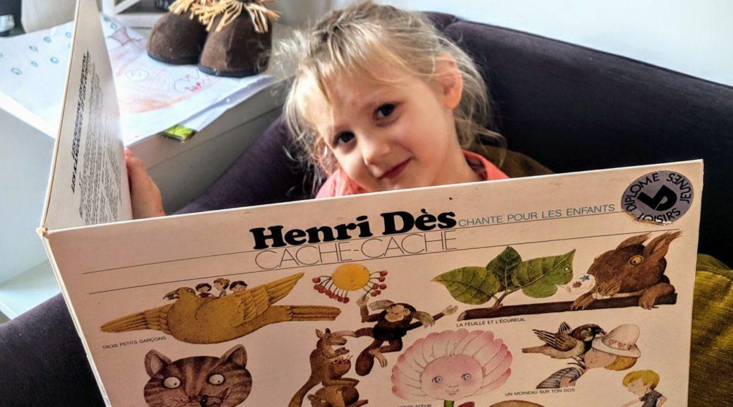 On redécouvre les disques de Henri Dès