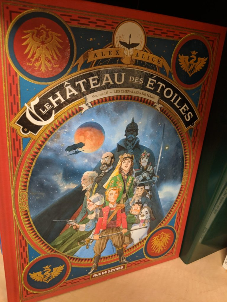 Le 3° tome du Château des Etoiles