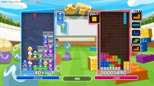 Puyo Puyo Tetris - PS4 (Sega - Sonic Team, 2017)