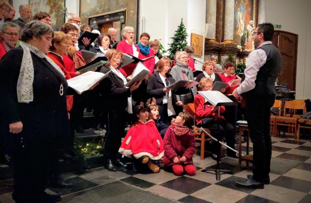 Concert de Noël de la chorale de Mamou - Amay