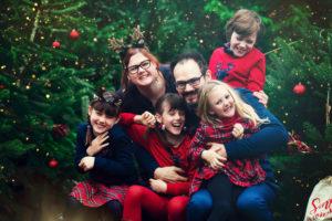 Joyeux Noël - La Famille MARTIN - Petite Snorkys Photography